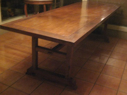 Philippines:  Large Narra dining room table, seats 12.