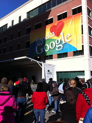 Topeka loves Google rally