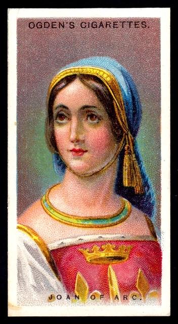 Cigarette Card - Joan of Arc