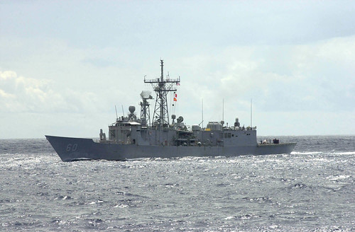 Rodney M. Davis Departs Yokosuka Following Voyage Repairs, Embarking HSM-51 Detachment