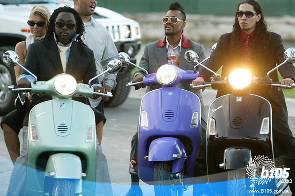 Black eyed peas scooter