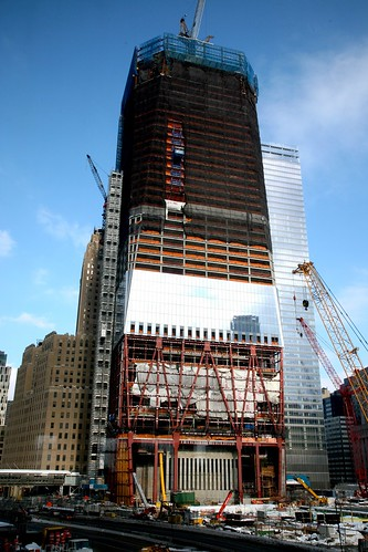 "New York City, Lower Manhattan, World Trade Center (WTC) - Ground Zero , "" One World Trade """