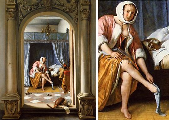 jan steen femme 224 sa toilette flickr photo