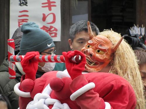 Oni Matsuri (鬼祭り), Toyohashi, 11th February 2011