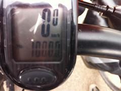 De første 1.000 km.