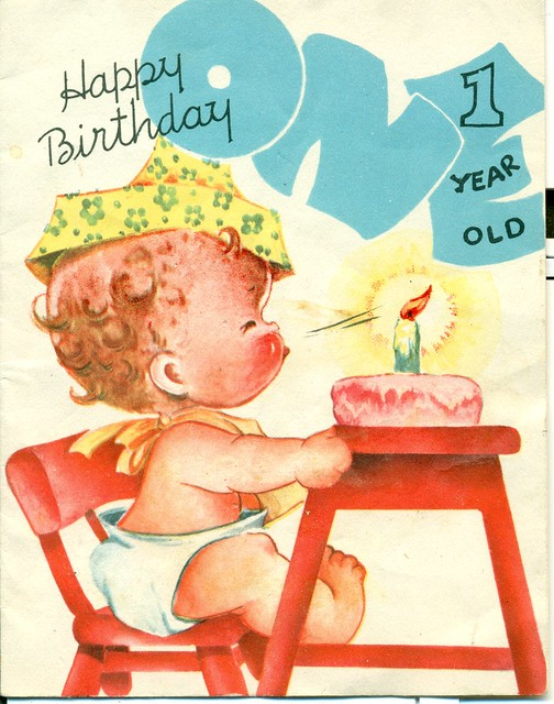 Happy birthday 1 year old to a little baby who s as dear a