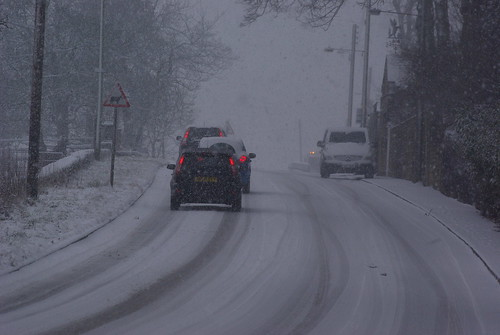 Greetland Winter Driving