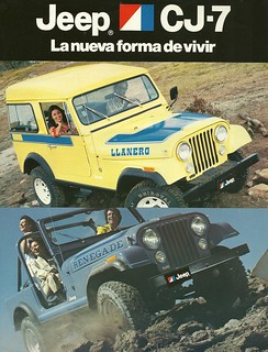 JEEP CJ-7 Venezuela