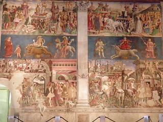 Frescos del Palazzo Schifanoia, Ferrara