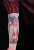 oriental-flower-tattoo-sleeve-by-javier-acero flower sleeve tattoo