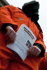 Close Guantanamo Bay protest