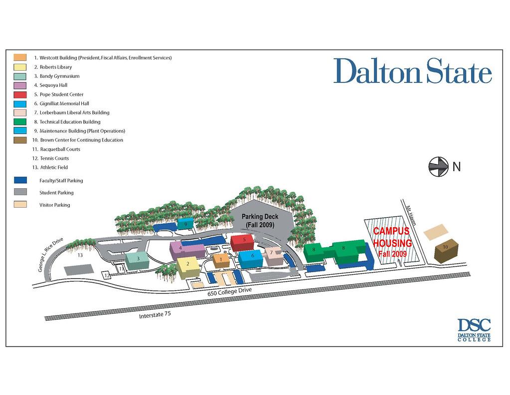 Dalton State Campus Map | UTC Design I | Flickr