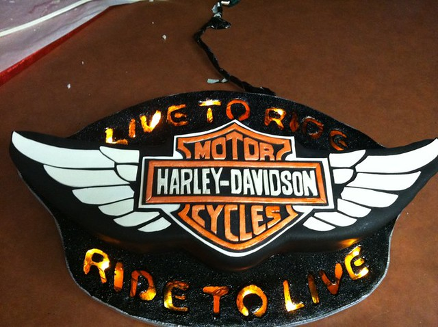 harley davidson cake flickr photo sharing