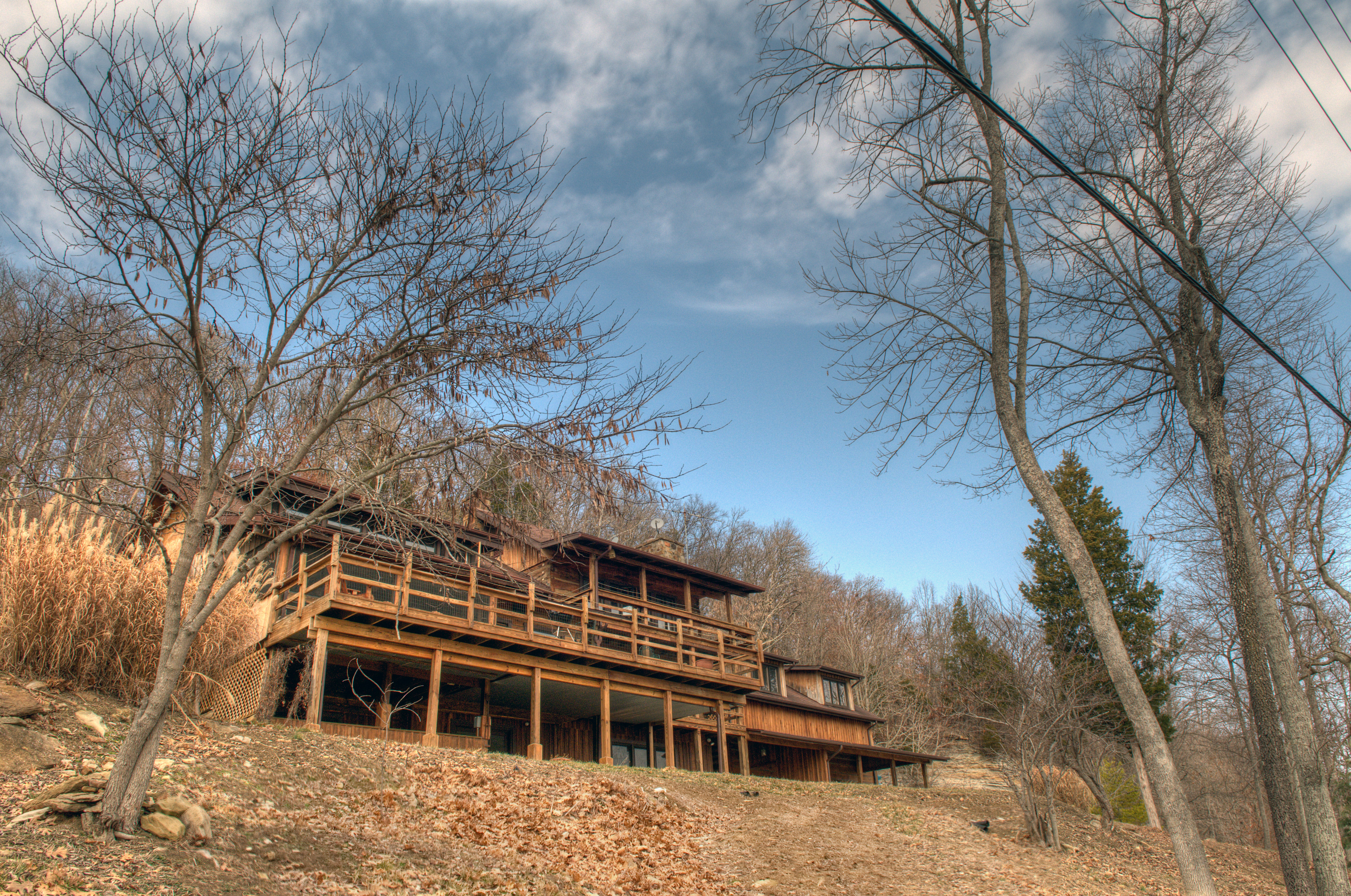Indiana perry county cannelton - Cabin View Indiana Deck Derby Hdr Photomatrix