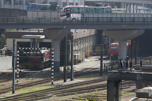 Locomotive depot at Hung Hom