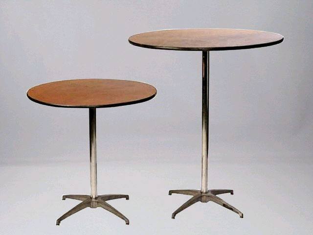 30 inch round sit down and stand up tables flickr - Table basse escamotable stand up ...