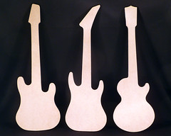 Guitar Wall Decor - Ready to Paint