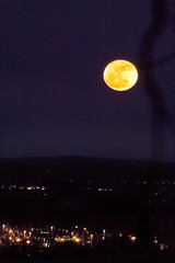 Super Moon over T.C.