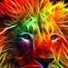 Rainbow Lion by CrystalStar716