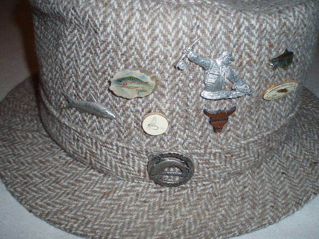 The classic fly rod forum fly fishing hat pins for Fishing hat pins
