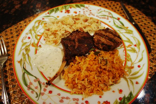 At Home:  Leftovers from Sofra Turkish Cuisine