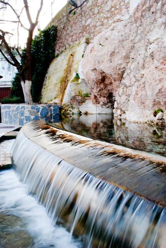 Nacimiento de agua en Bélmez