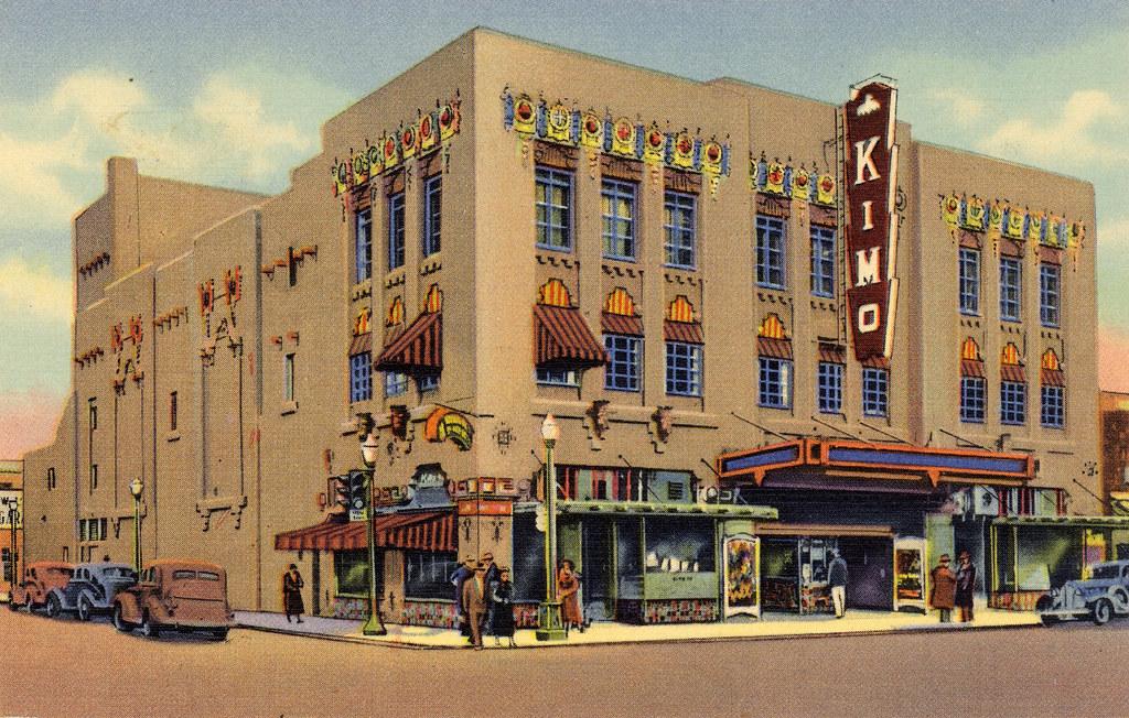 Kimo Theatre Albuquerque, NM Postcard