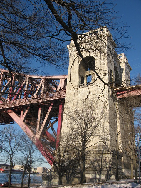 hellgate bridge, astoria park