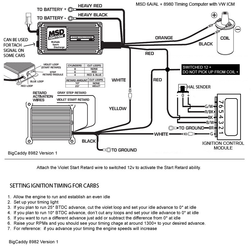 msd 8982 wiring diagram msd power grid wiring
