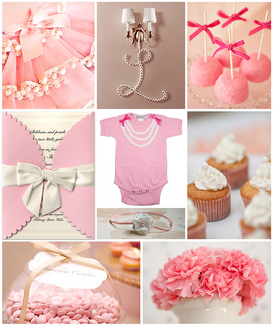 ribbons and pearls baby shower flickr photo sharing