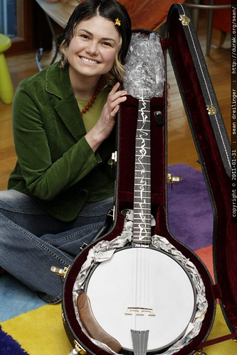 unboxing a nechville phantom banjo