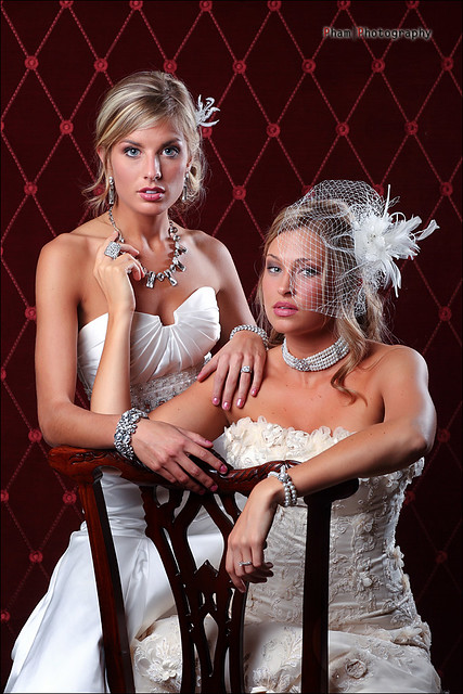 Kim and Aurielle ~ The Vintage Brides