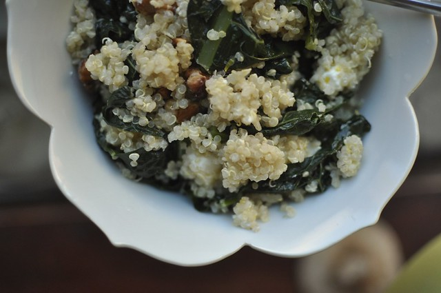 quinoa and kale salad