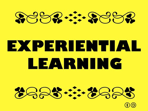 Buzzword Bingo: Experiential learning allows us to build the capacity to build the capacity.