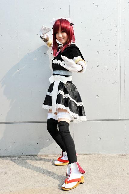 WF2011冬Cosplay 下限少女领衔出演-星宫动漫