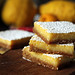lemon bar cookies (gingersnap)