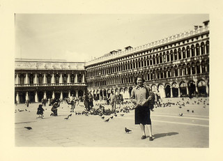 Venice, San Marco, 18.4.1954