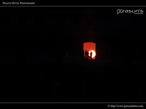 sunset red people india silhouette nikon kolkata racecourse kws westbengal d90 prasun centralkolkata nikond90 kolkataweekendshoots prasundutta kolkataracecourse kwsian prasunsphotography