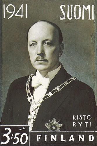 Risto Ryti, ex-presidente finlandés