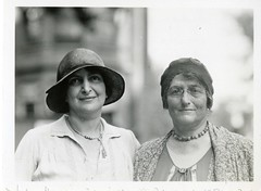 (left to right): Sidonie Matsner Gruenberg (1881-1974) and Bird Stein Gans (1868-1944) by Smithsonian Institution