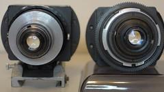 Lomo 35mm anamorphic square fronts comaparison