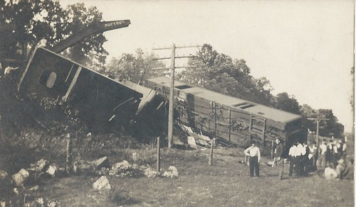 Gladbrook, Iowa, Green Mountain Train Wreck, Rock Island Railroad