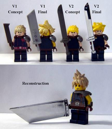 Cloud Strife - Reconstructed