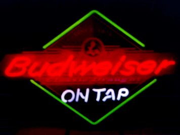 Budweiser Diamond 'On Tap' Neon Beer Sign | Budweiser Diamon