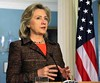 Hillary Clinton not impressed by Libya ceasefire added as a favorite.