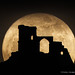 Super Moon and Mow Cop by Peter J Bailey