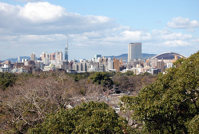 Fukuoka 福岡  Fukuoka Castle in Chuo-ku was once the main ...