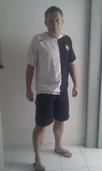 arm, clothing, white, male, man, muscle, limb, standing, boy, t-shirt,