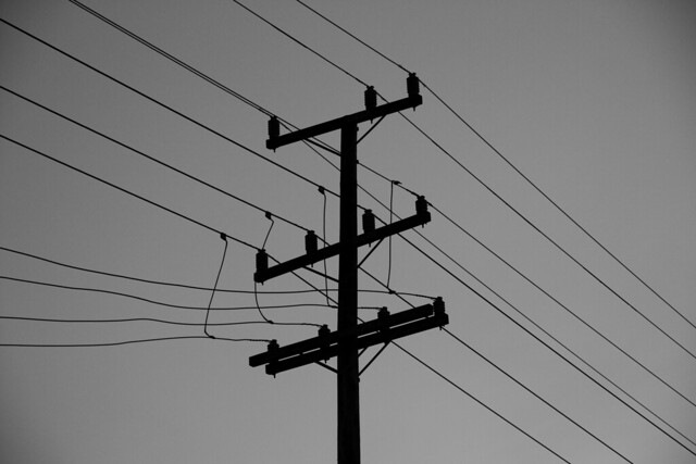 Telephone pole in The richmond, San Francisco (2011)