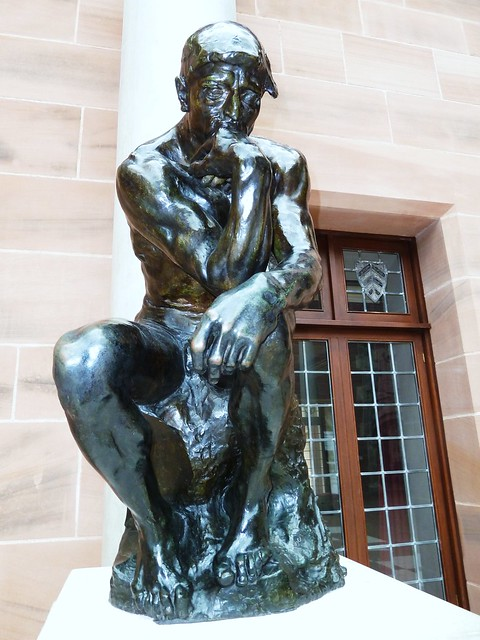 The Thinker by August Rodin, Burrell Collection, Glasgow